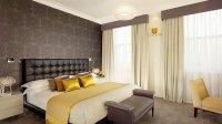 Sypialnia, apartament Jaguara w Londynie