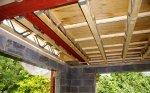 strop drewniany