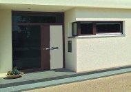 Nowe wzory aluminiowych drzwi zewnętrznych.